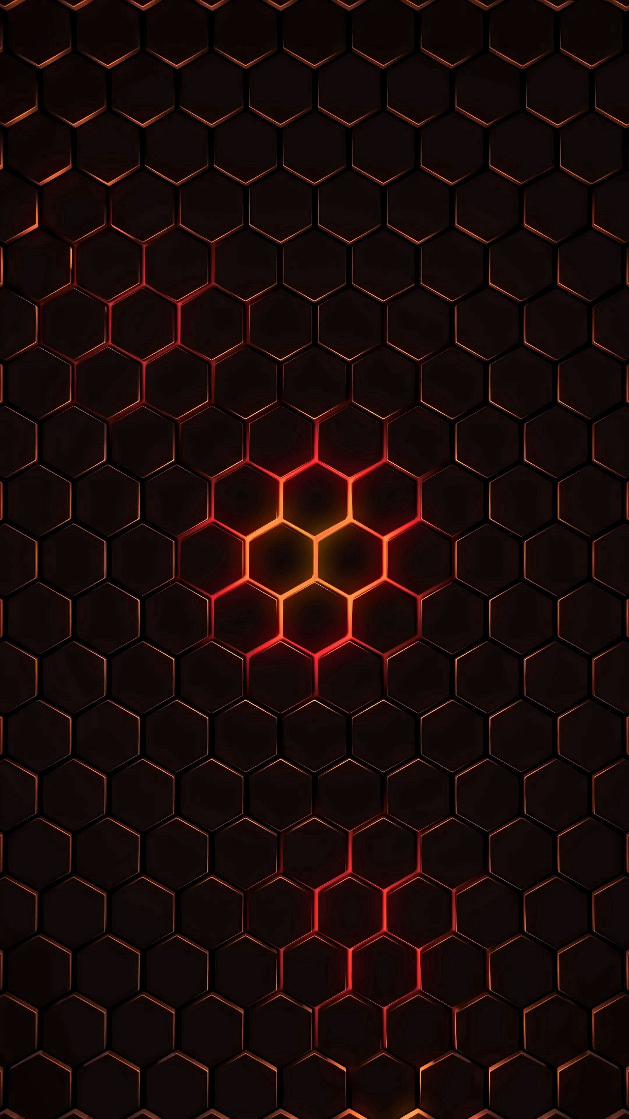122582 download wallpaper Abstract, Dark, Texture, Glow, Cells, Hexagons, Cell, Hexagonals screensavers and pictures for free