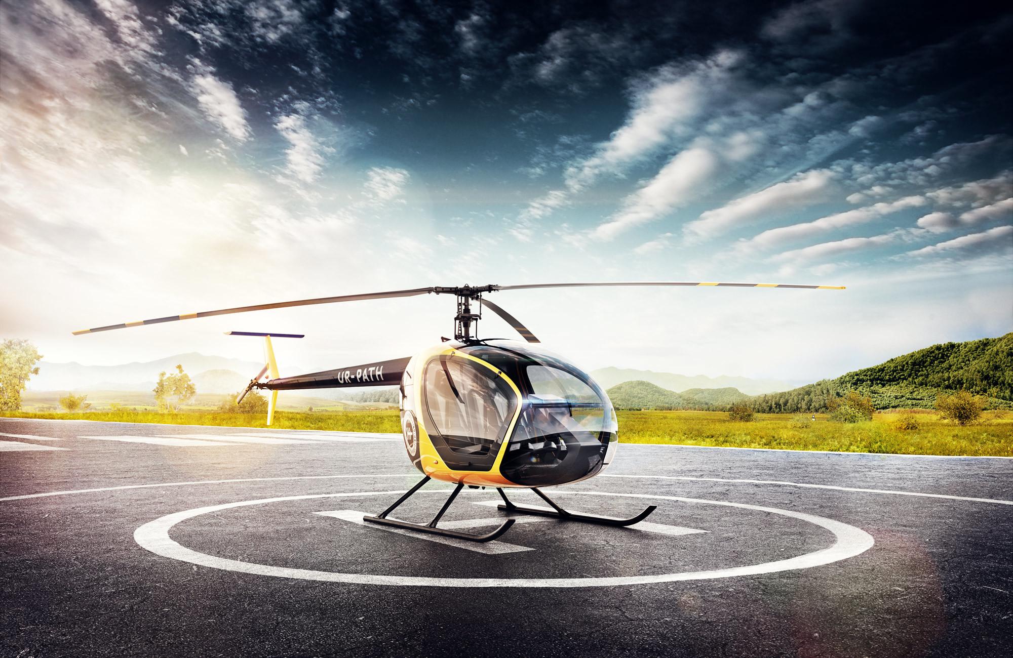 109093 Hintergrundbild herunterladen Hubschrauber, Verschiedenes, Sonstige, Ausziehen, Starten, Abheben, Losfahren, Start, Sl-230, Scout, Erkunden - Bildschirmschoner und Bilder kostenlos