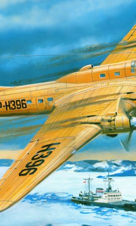47114 скачать обои Транспорт, Корабли, Самолеты, Рисунки - заставки и картинки бесплатно