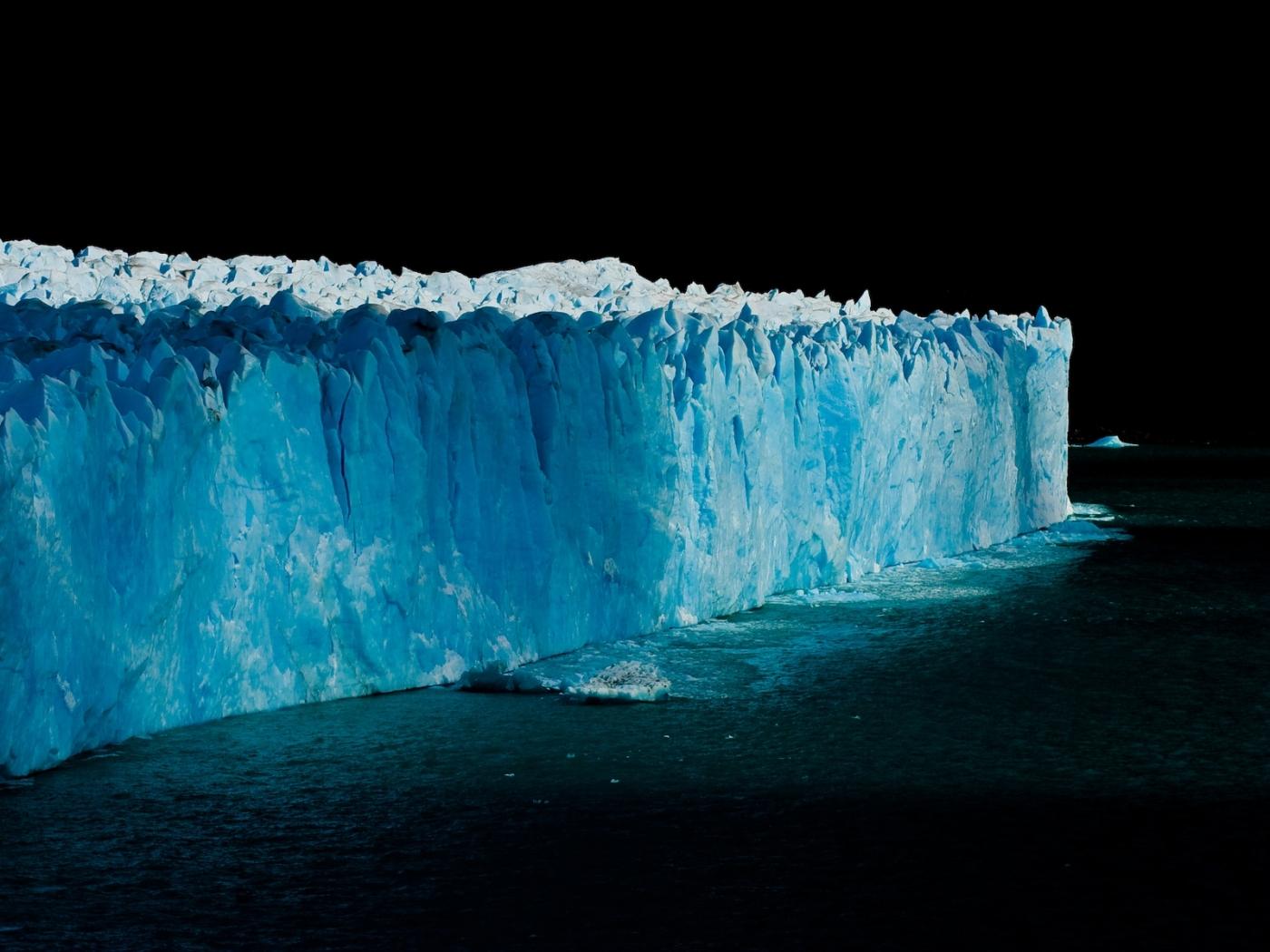 26507 免費下載壁紙 景观, 海, 冰, 夜, 冰山 屏保和圖片
