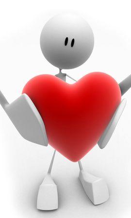 14992 скачать обои Фон, Сердца, Любовь, День Святого Валентина (Valentine's Day) - заставки и картинки бесплатно
