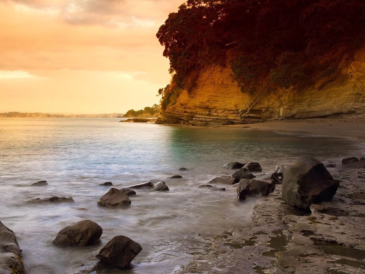 8770 скачать обои Пейзаж, Камни, Горы, Море - заставки и картинки бесплатно