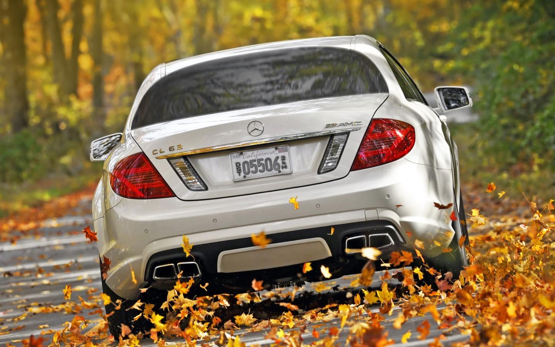 17932 скачать обои Транспорт, Машины, Осень, Мерседес (Mercedes) - заставки и картинки бесплатно