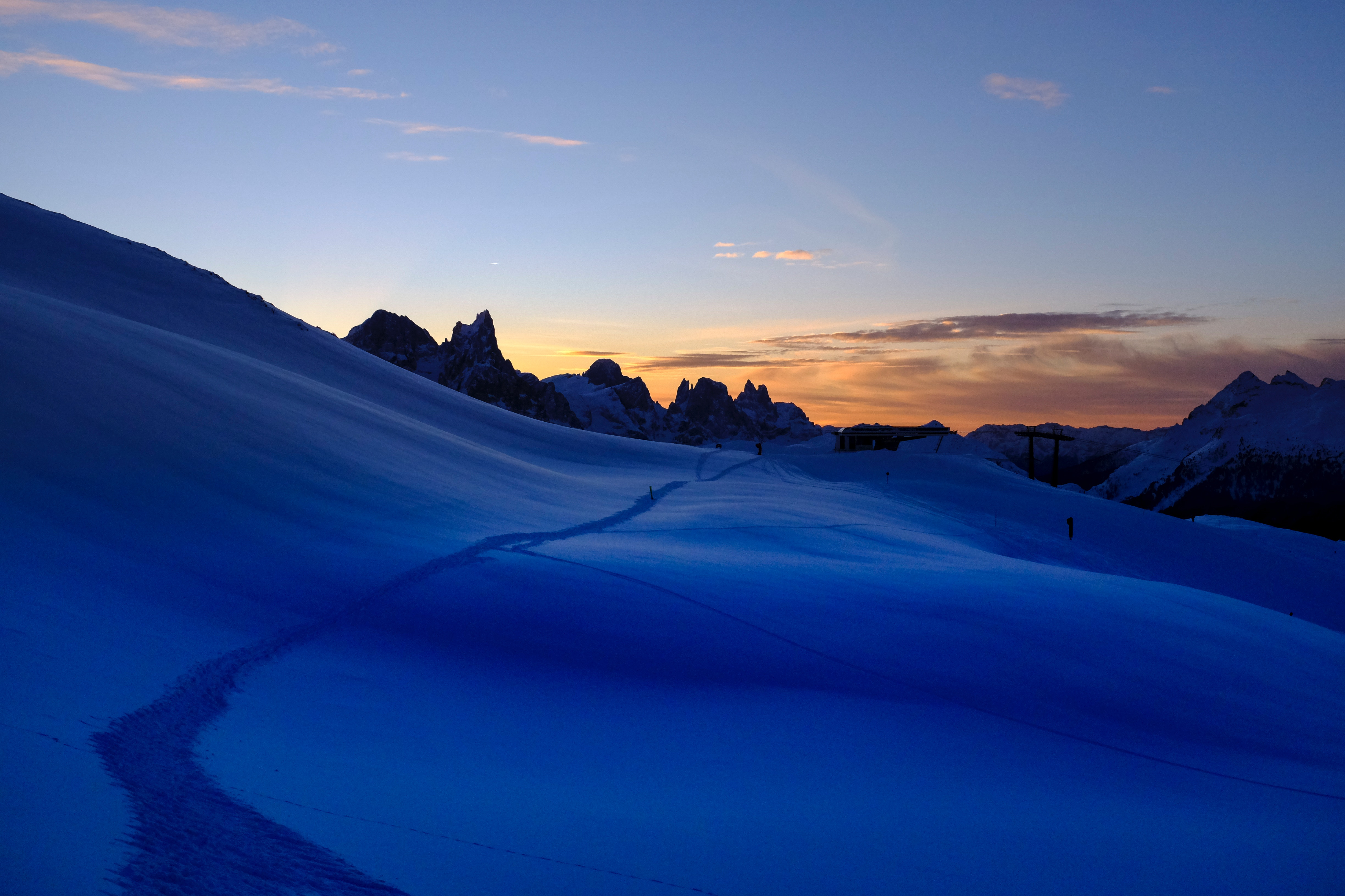 87921 Screensavers and Wallpapers Path for phone. Download Nature, Sky, Mountains, Snow, Path, Trail pictures for free