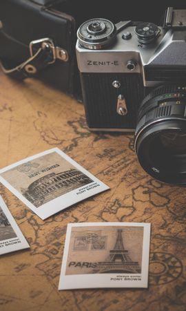お使いの携帯電話の128691スクリーンセーバーと壁紙テクノロジー。 テクノロジー, ビンテージ, レトロ, カメラ, 地図, 写真, 旅の写真を無料でダウンロード