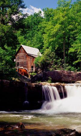 41289 скачать обои Пейзаж, Водопады - заставки и картинки бесплатно