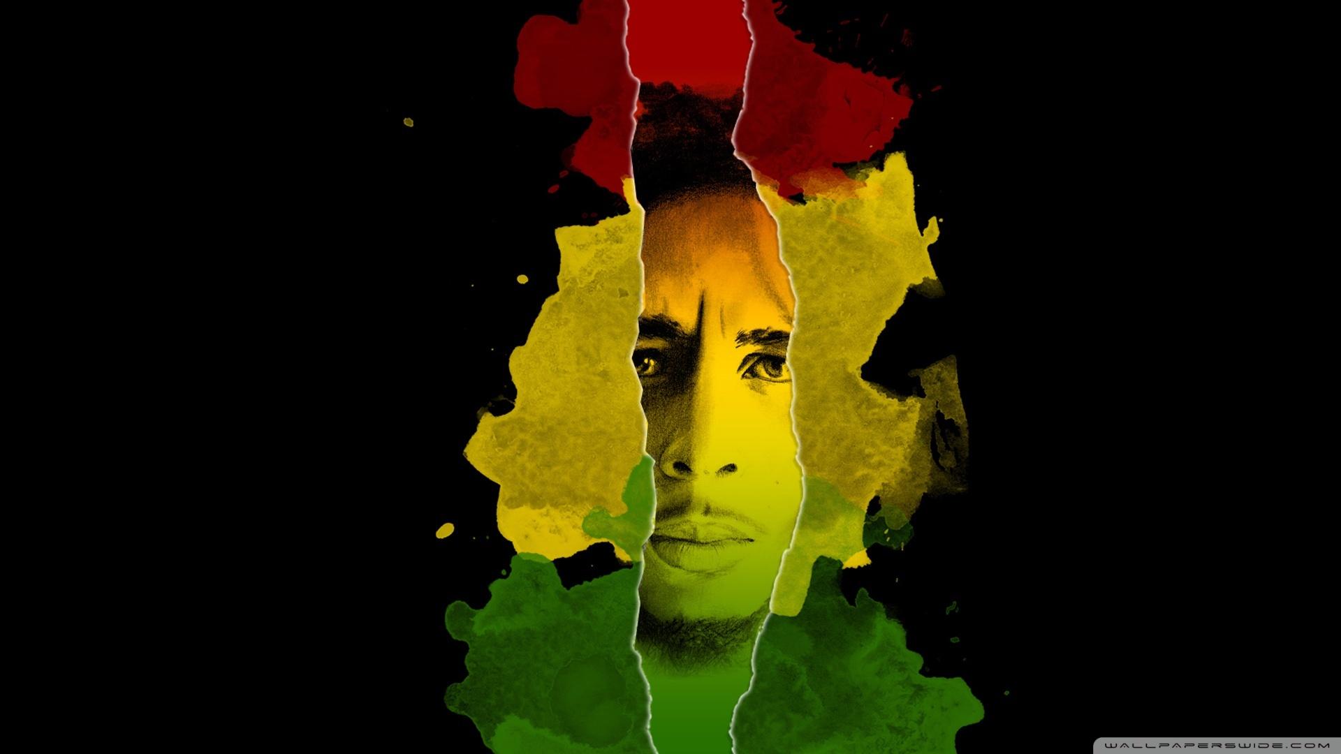 18537 baixar papel de parede Bob Marley, Música, Pessoas, Fundo, Artistas, Bandeiras, Homens - protetores de tela e imagens gratuitamente