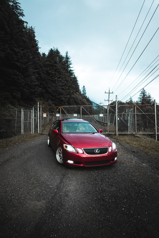 129956 Заставки и Обои Лексус (Lexus) на телефон. Скачать Лексус (Lexus), Тачки (Cars), Красный, Автомобиль, Вид Спереди картинки бесплатно