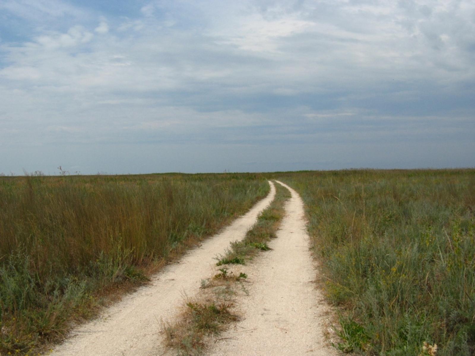 1758 скачать обои Пейзаж, Трава, Небо, Дороги - заставки и картинки бесплатно