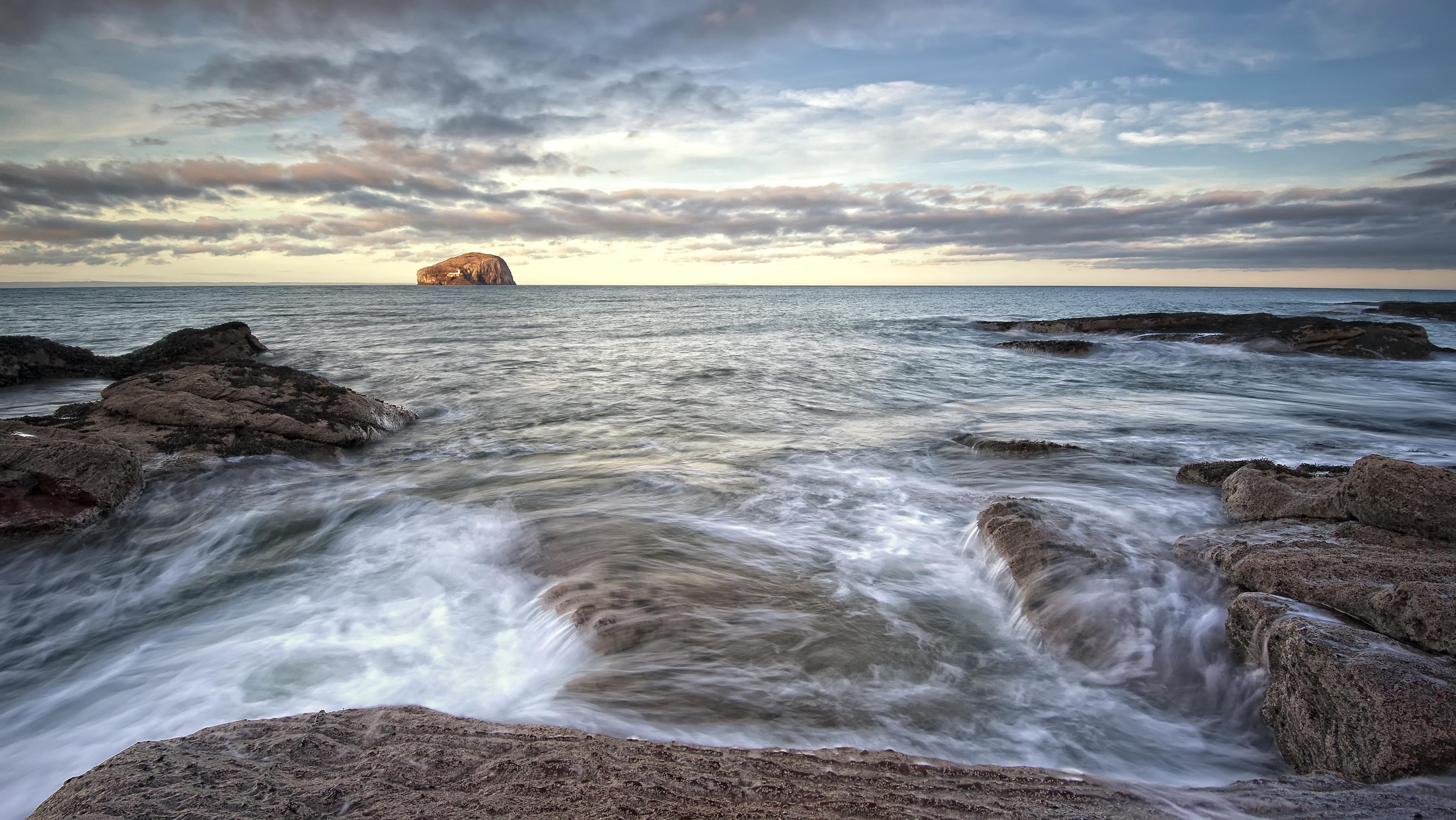 104808 Hintergrundbild herunterladen Landschaft, Natur, Küste, Schottland, Nordberwick, North Berwick - Bildschirmschoner und Bilder kostenlos