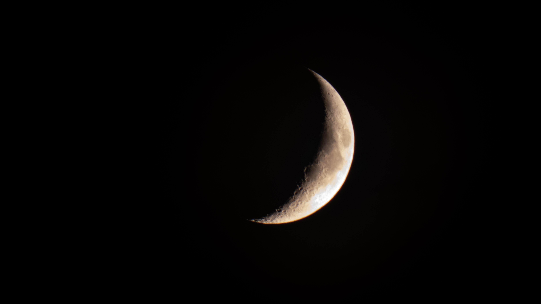 134585 免費下載壁紙 月球, 阴影, 黑色的, 夜 屏保和圖片