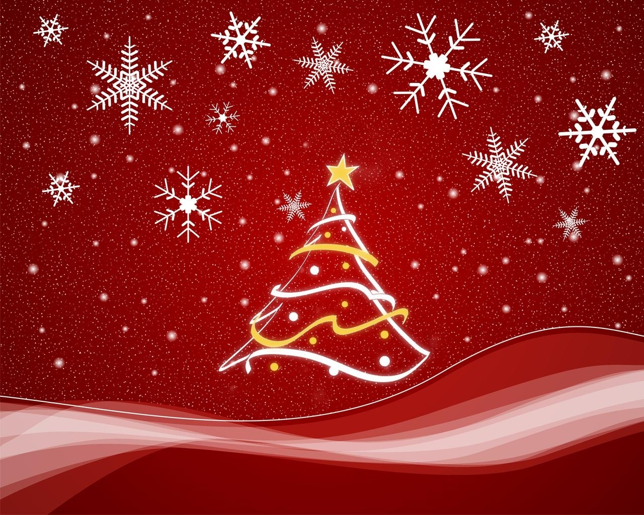 2213 скачать обои Праздники, Новый Год (New Year), Елки, Рождество (Christmas, Xmas), Рисунки - заставки и картинки бесплатно
