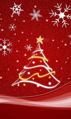 2213 télécharger le fond d'écran Fêtes, Nouvelle Année, Sapins, Noël, Dessins - économiseurs d'écran et images gratuitement