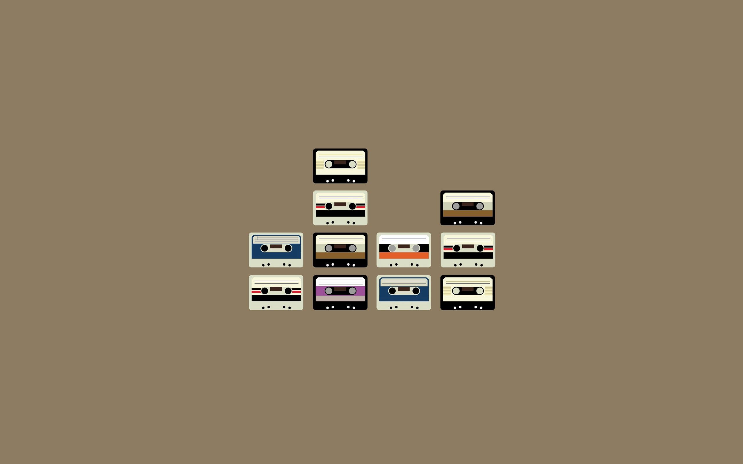 125587 Screensavers and Wallpapers Retro for phone. Download Vector, Cassette, Lots Of, Multitude, Retro pictures for free