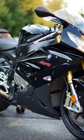 81531 descargar fondo de pantalla Motocicletas, Bmw S1000Rr, Bmw, Bicicleta, Deportes, Deportivo, Motocicleta, El Negro: protectores de pantalla e imágenes gratis