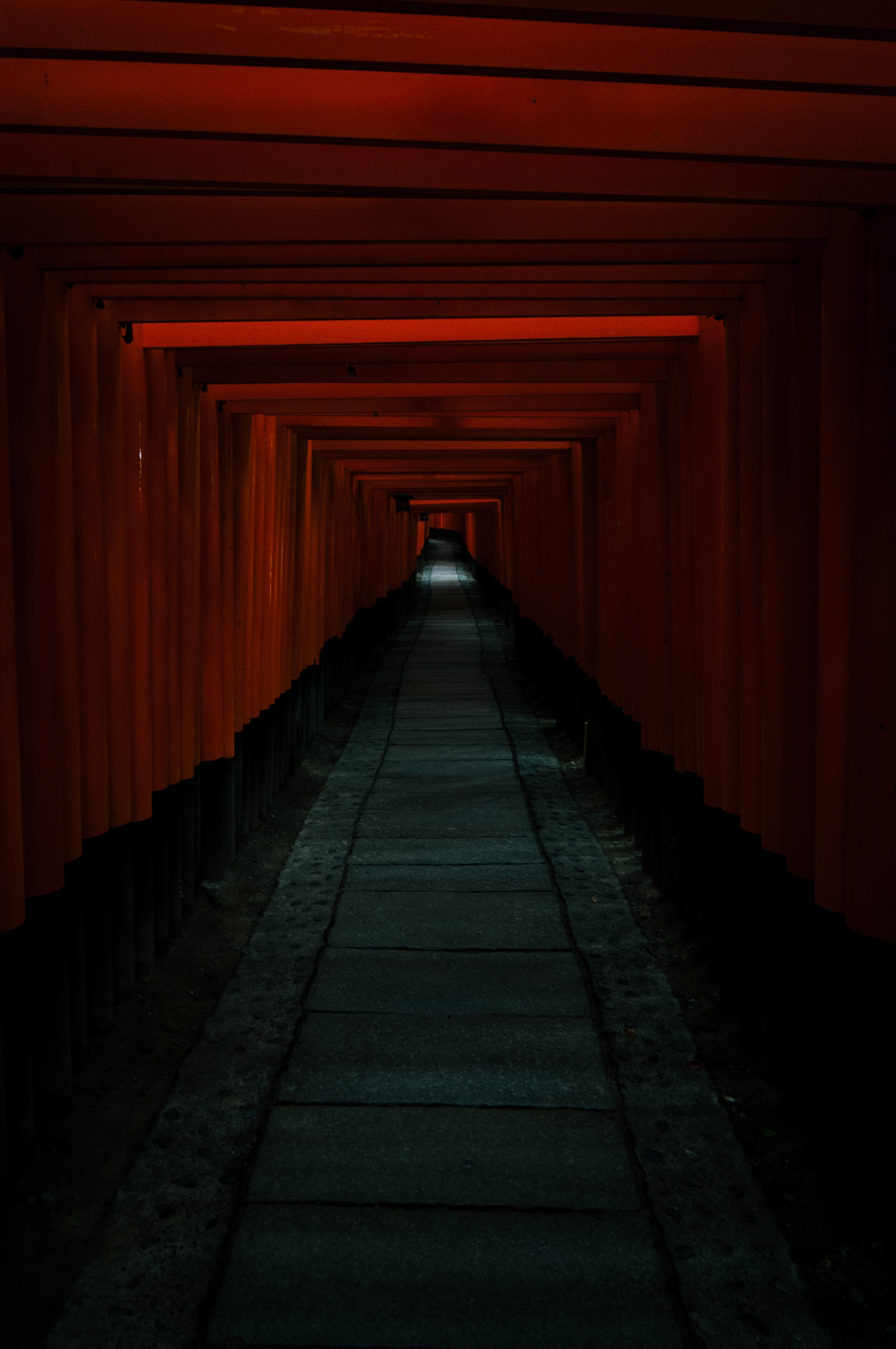 52411 free download Red wallpapers for phone, Dark, Tunnel, Passage Red images and screensavers for mobile