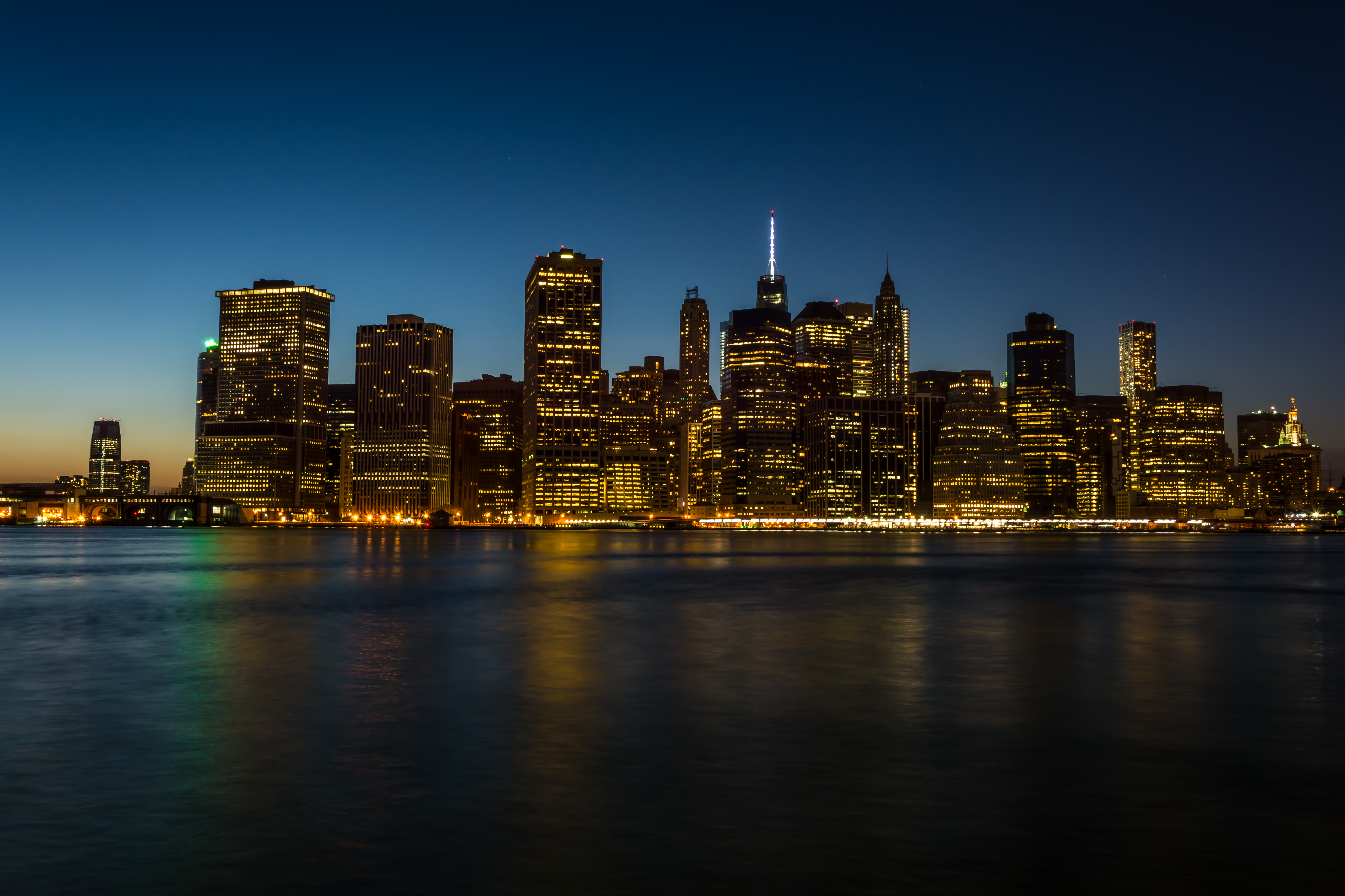 133080 download wallpaper Architecture, Cities, City, Building, Coast, New York, Manhattan screensavers and pictures for free