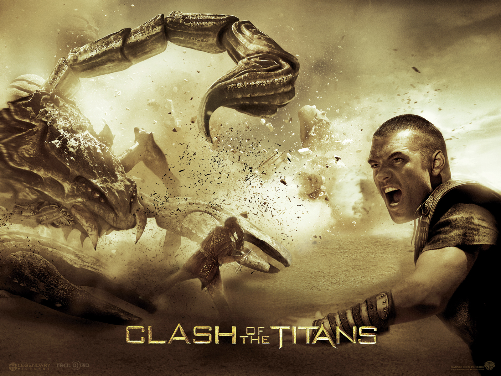 13368 download wallpaper Cinema, Scorpions, Clash Of The Titans screensavers and pictures for free