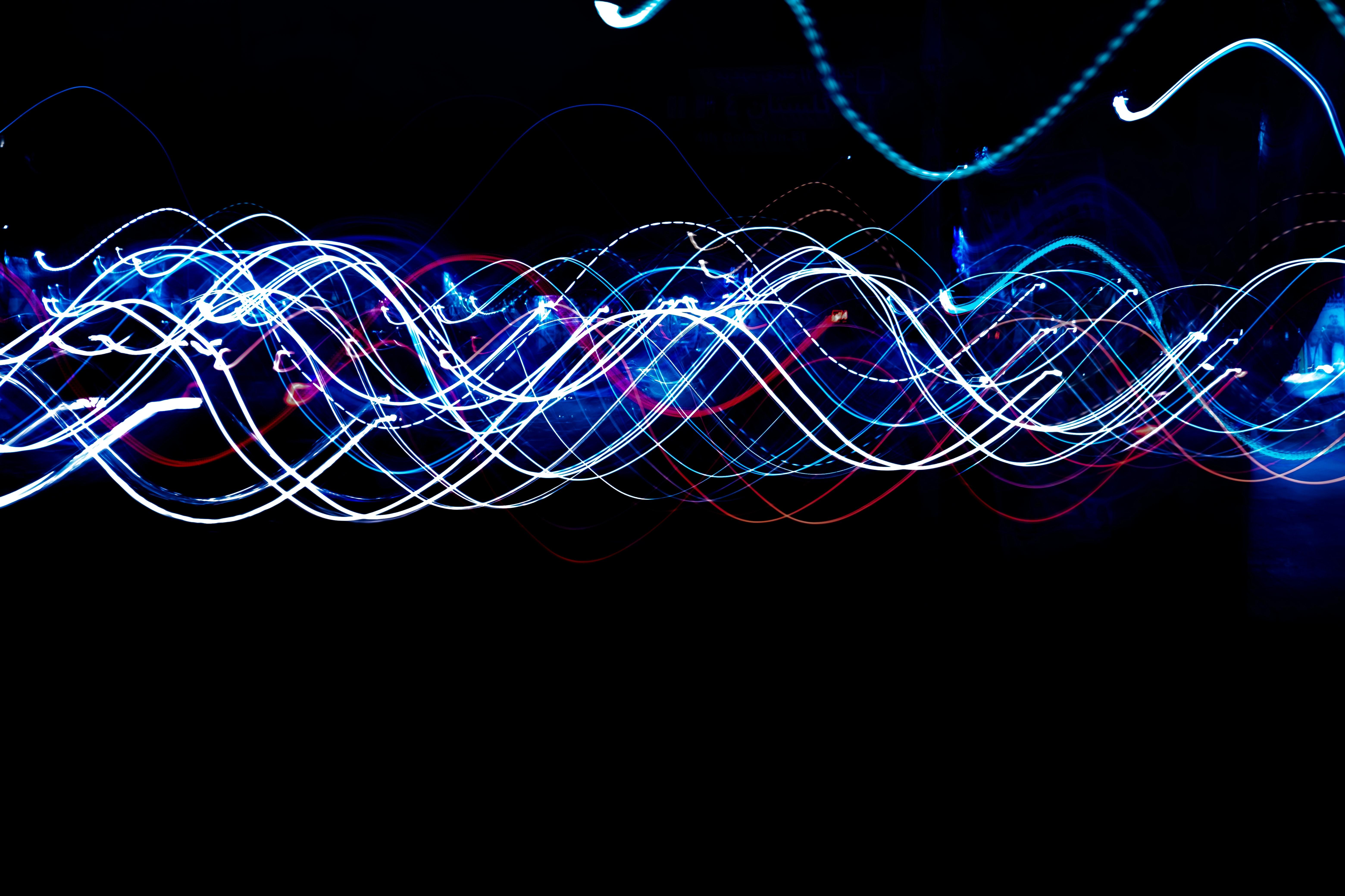 免費下載 64637: 抽象, 闪耀, 光, 线, 长期接触, 长曝光, 冻结之光, 弗里斯利特, 辉光, 发光 桌面壁紙