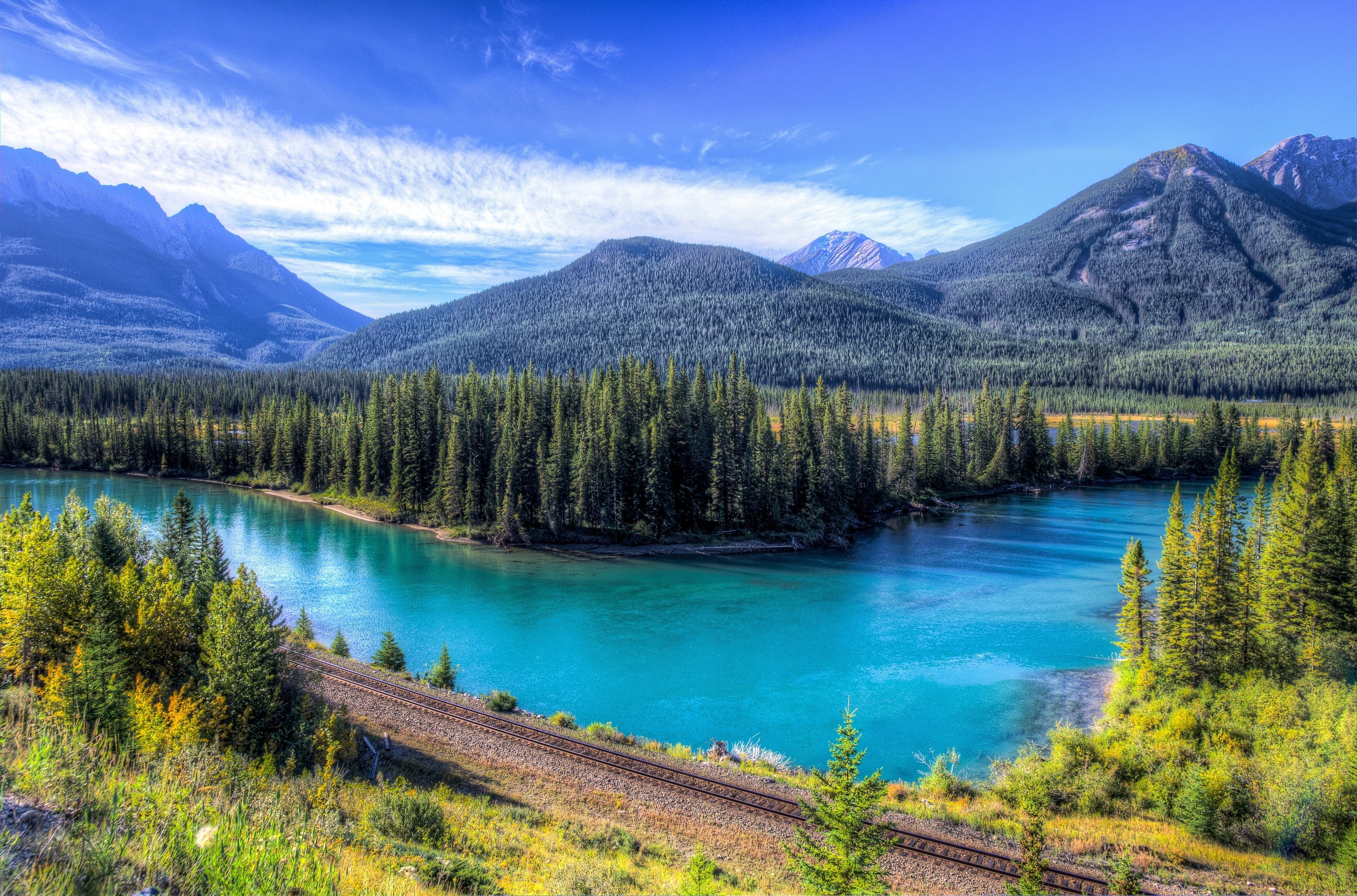 124887 download wallpaper Nature, Lake, Mountains, Landscape screensavers and pictures for free
