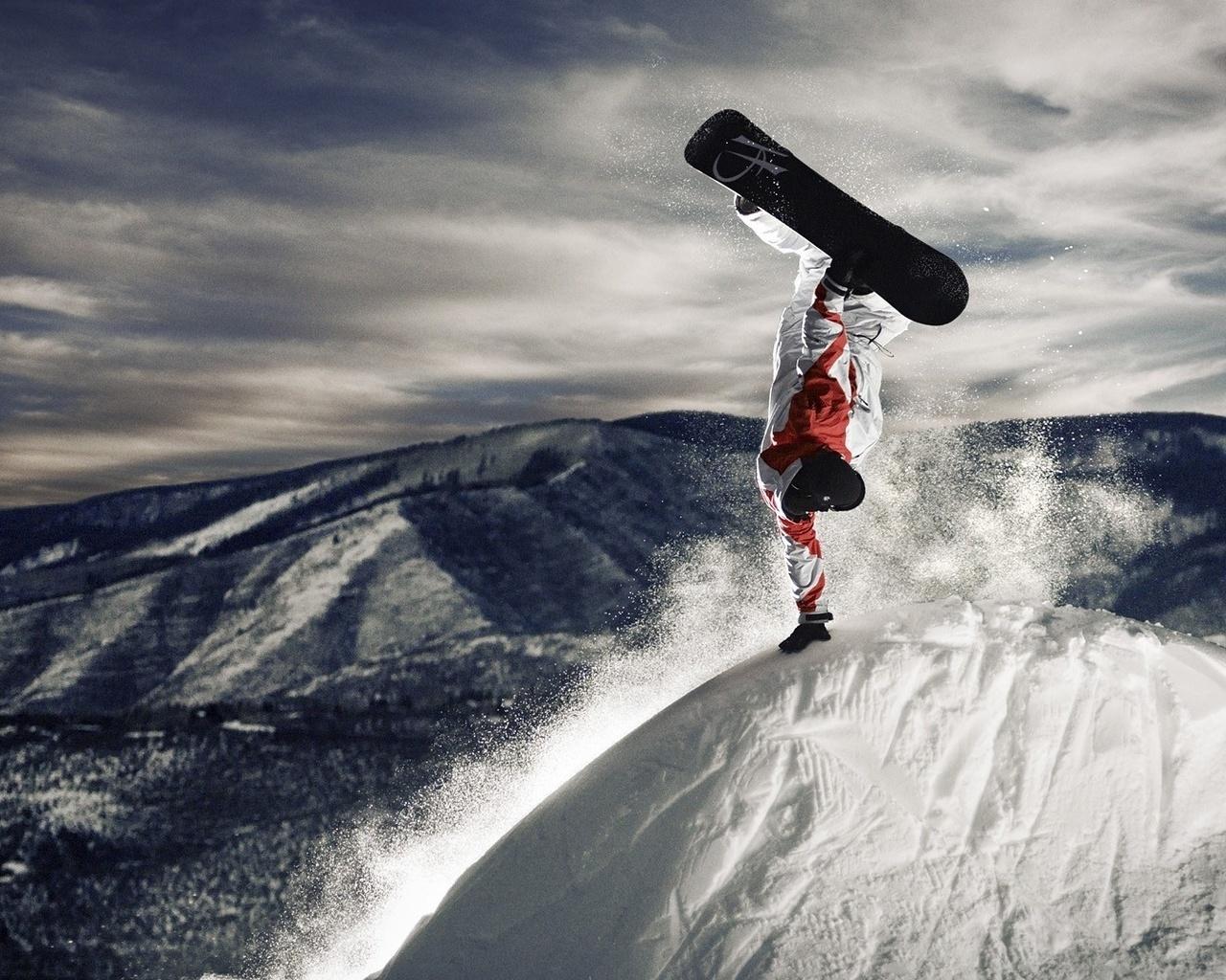 17526 скачать обои Спорт, Люди, Горы, Мужчины, Снег - заставки и картинки бесплатно