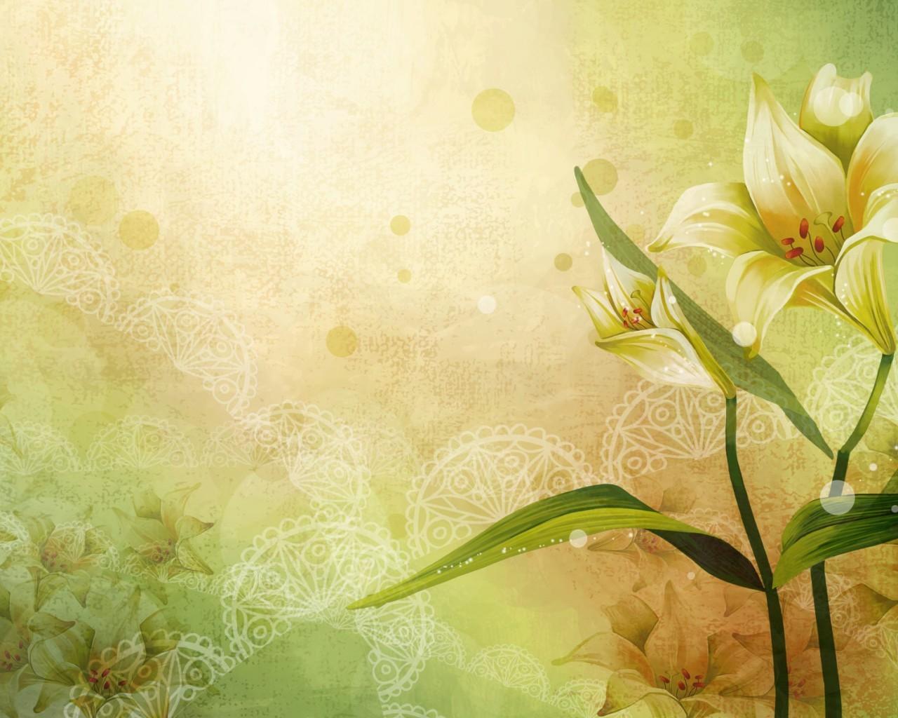 Скачать картинку Растения, Цветы, Фон, Рисунки в телефон бесплатно.