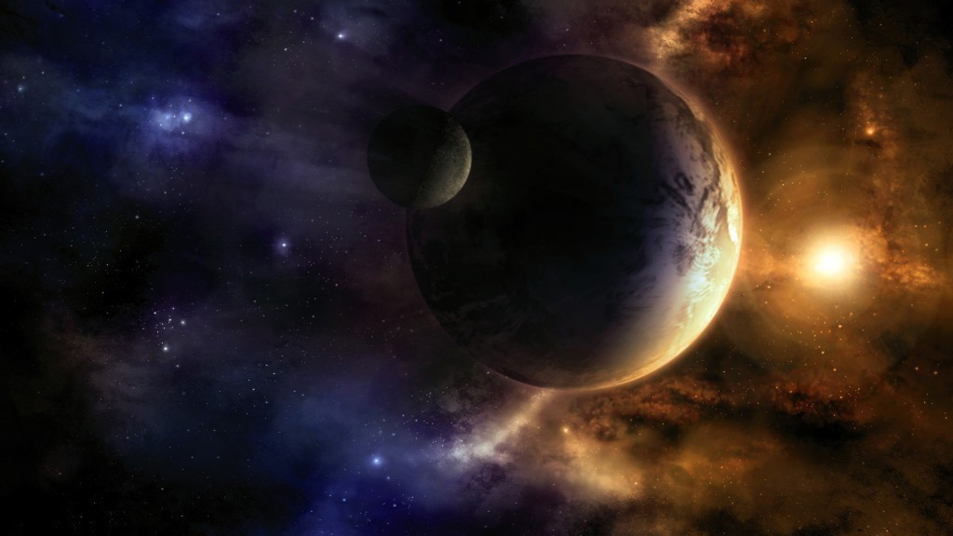 44843 download wallpaper Fantasy, Planets, Universe screensavers and pictures for free