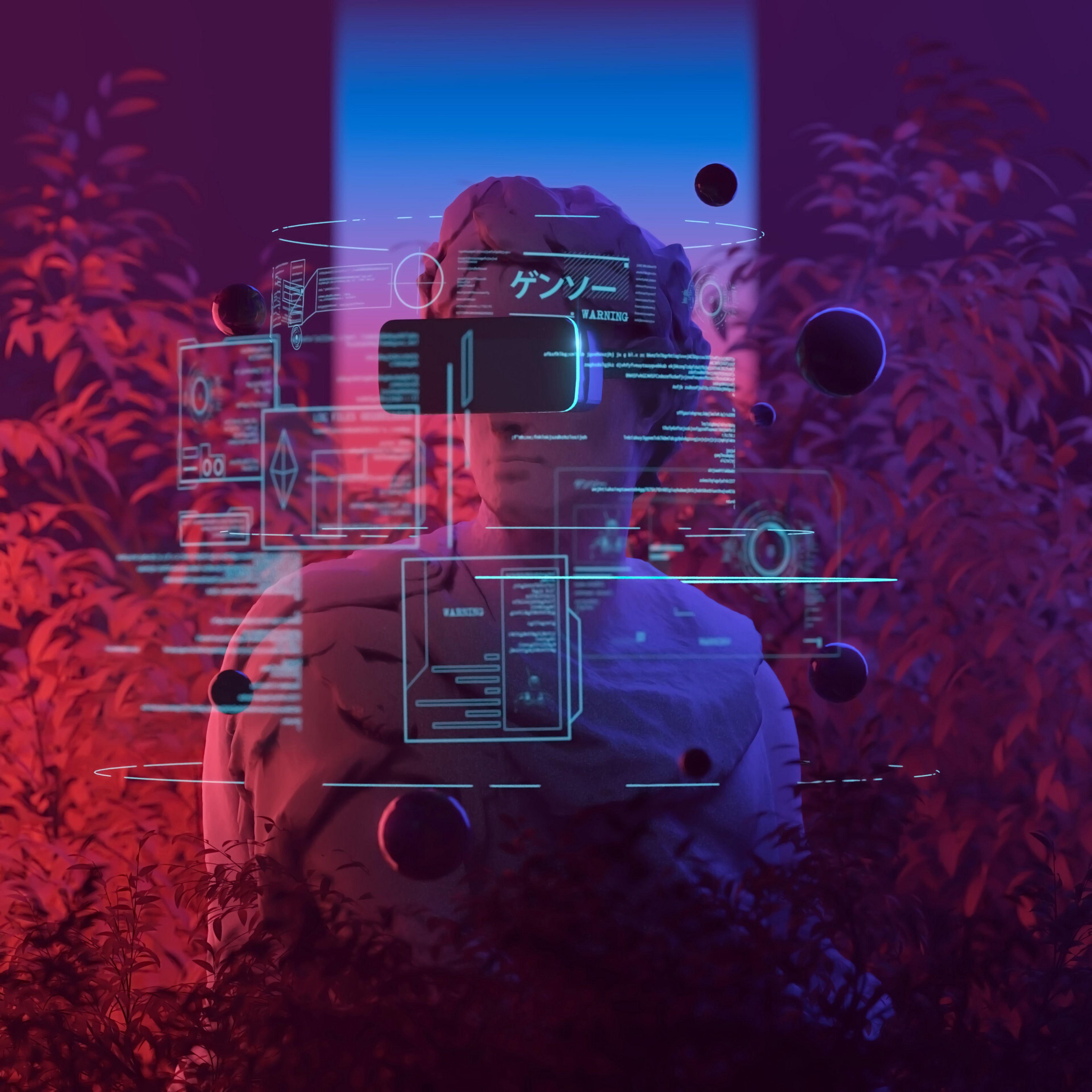 122039 Заставки и Обои Технологии на телефон. Скачать Технологии, Арт, Неон, Виртуальная Реальность, Виар картинки бесплатно