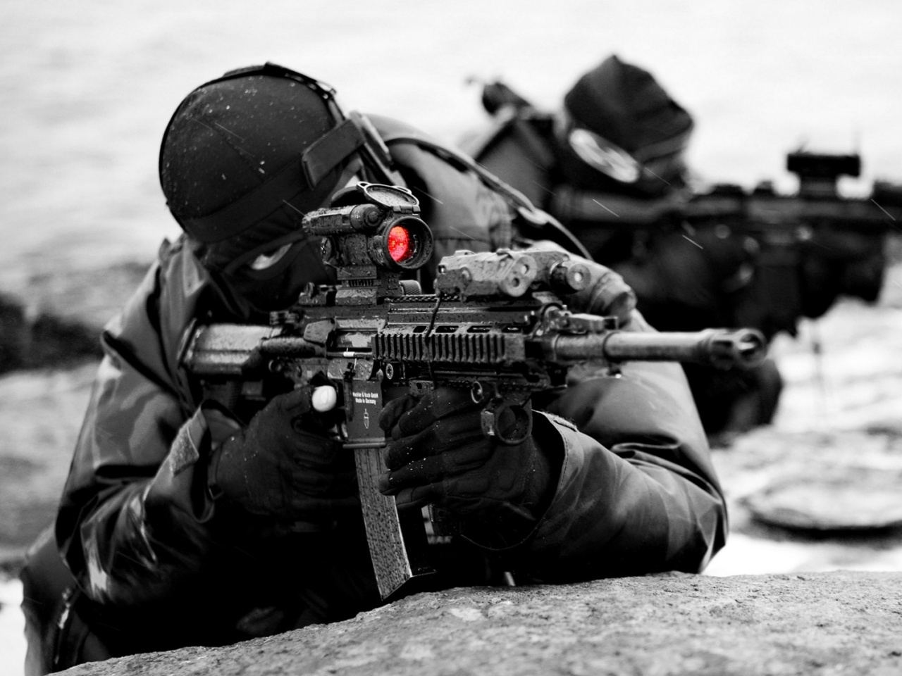 32348 Hintergrundbild herunterladen Menschen, Männer, Soldiers - Bildschirmschoner und Bilder kostenlos