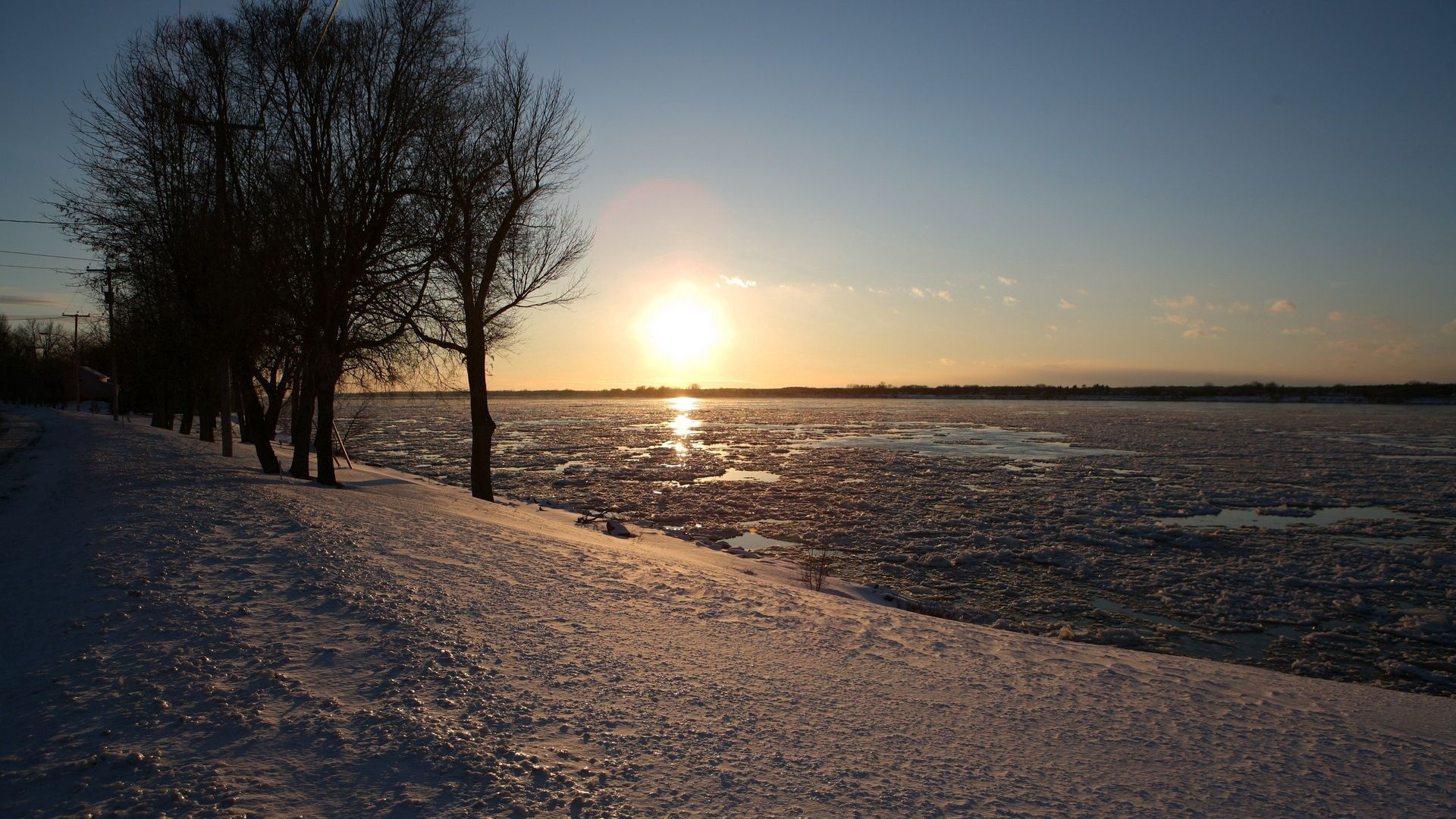 122958 Заставки и Обои Лед на телефон. Скачать Лед, Природа, Река, Солнце, Блеск, Весна, Таяние картинки бесплатно