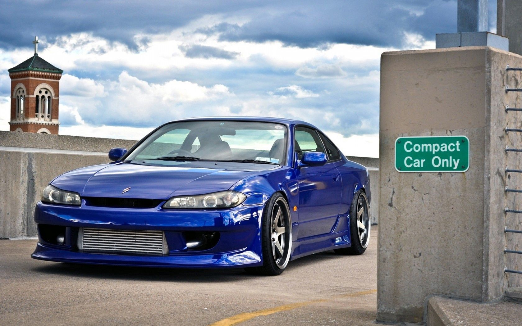 76668 download wallpaper Nissan, Cars, Car, Beautiful, Machine, Silvia, Front End, Limber screensavers and pictures for free