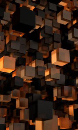 お使いの携帯電話の157986スクリーンセーバーと壁紙3D。 キューブ, 三乗, フォーム, 形, 3D, 図, 像の写真を無料でダウンロード