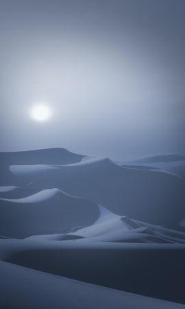 130527 télécharger le fond d'écran Nature, Dunes, Liens, Lune, Nuit, Clair De Lune, Désert, Paysage - économiseurs d'écran et images gratuitement