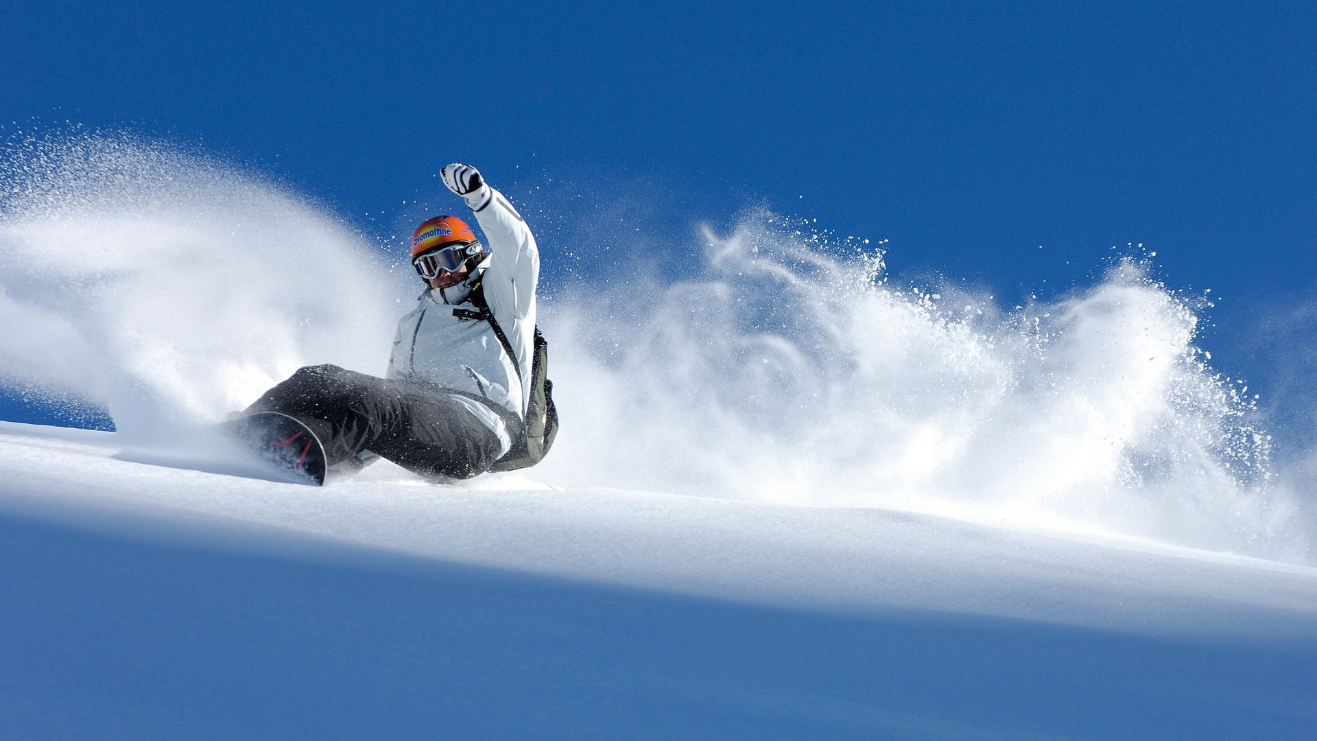 122838 download wallpaper Sports, Snow, Balance, Descent, Snowboard, Extreme, Equilibrium screensavers and pictures for free