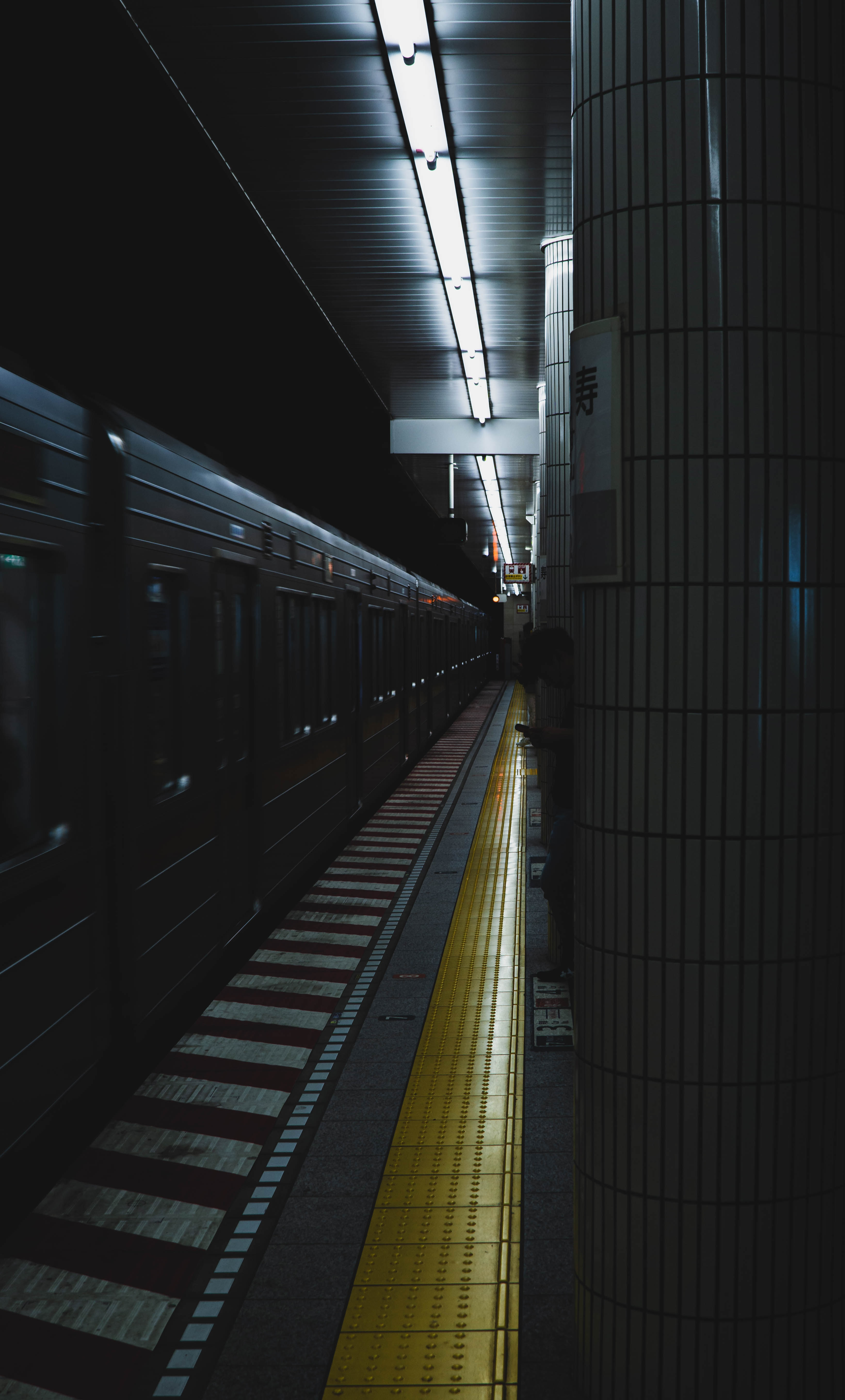 95149 Screensavers and Wallpapers Metro for phone. Download Dark, Miscellanea, Miscellaneous, Station, Underground, Train, Metro, Subway pictures for free