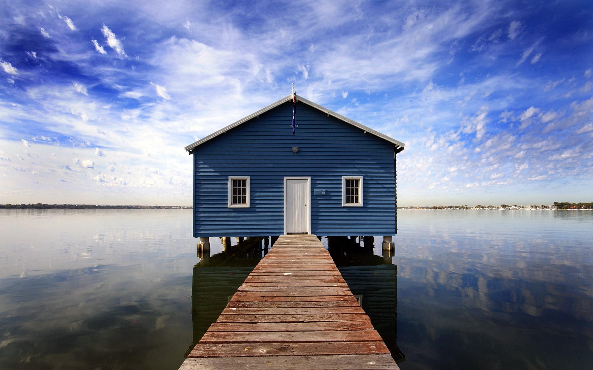 12809 скачать обои Пейзаж, Вода, Дома, Озера - заставки и картинки бесплатно