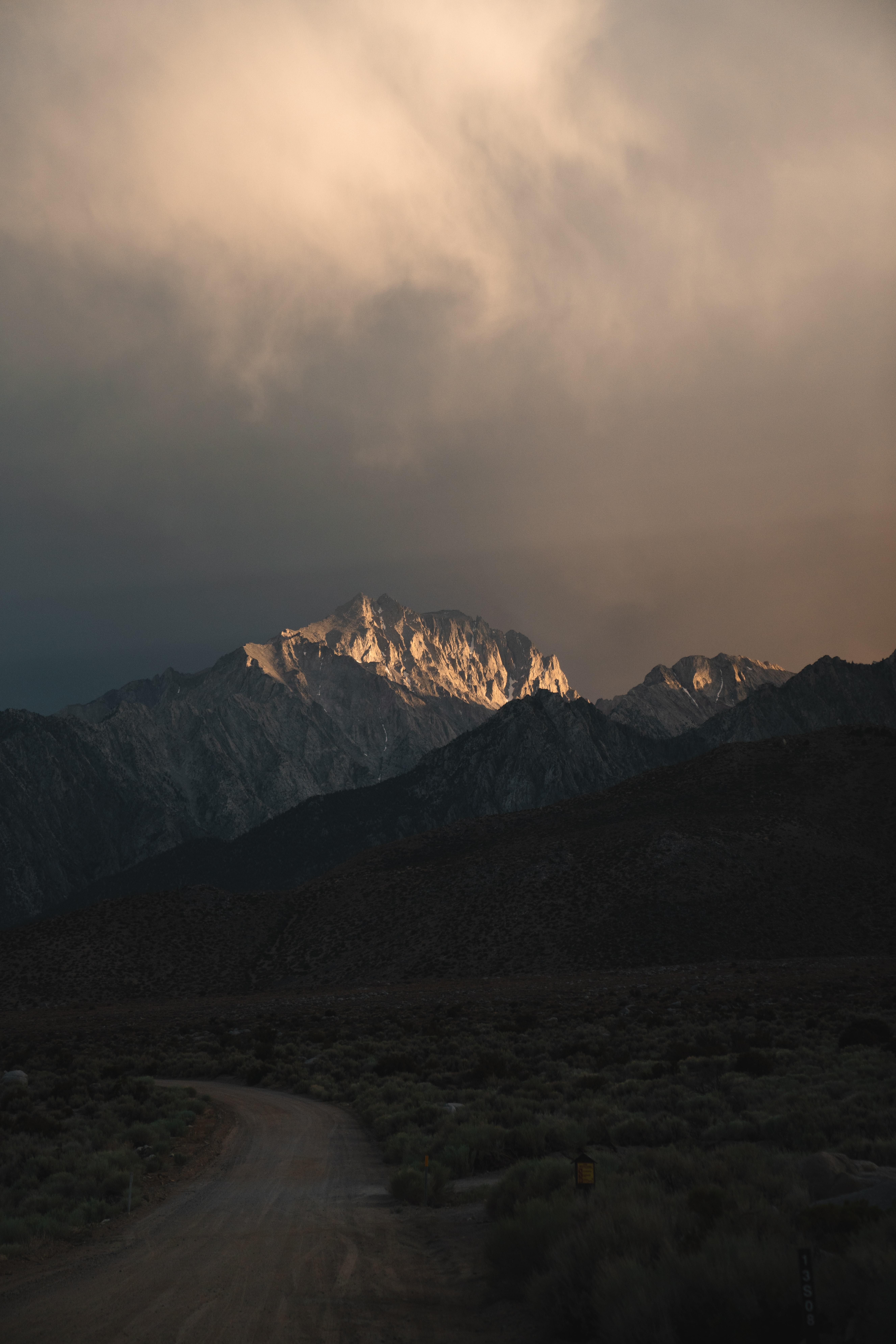 72393 Заставки и Обои Горы на телефон. Скачать Природа, Скалы, Вершины, Дорога, Горы картинки бесплатно