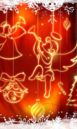 22095 download wallpaper Holidays, Background, Christmas, Xmas screensavers and pictures for free
