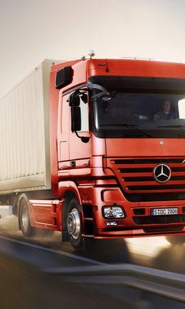 28362 télécharger le fond d'écran Transports, Voitures, Mercedes, Camions - économiseurs d'écran et images gratuitement