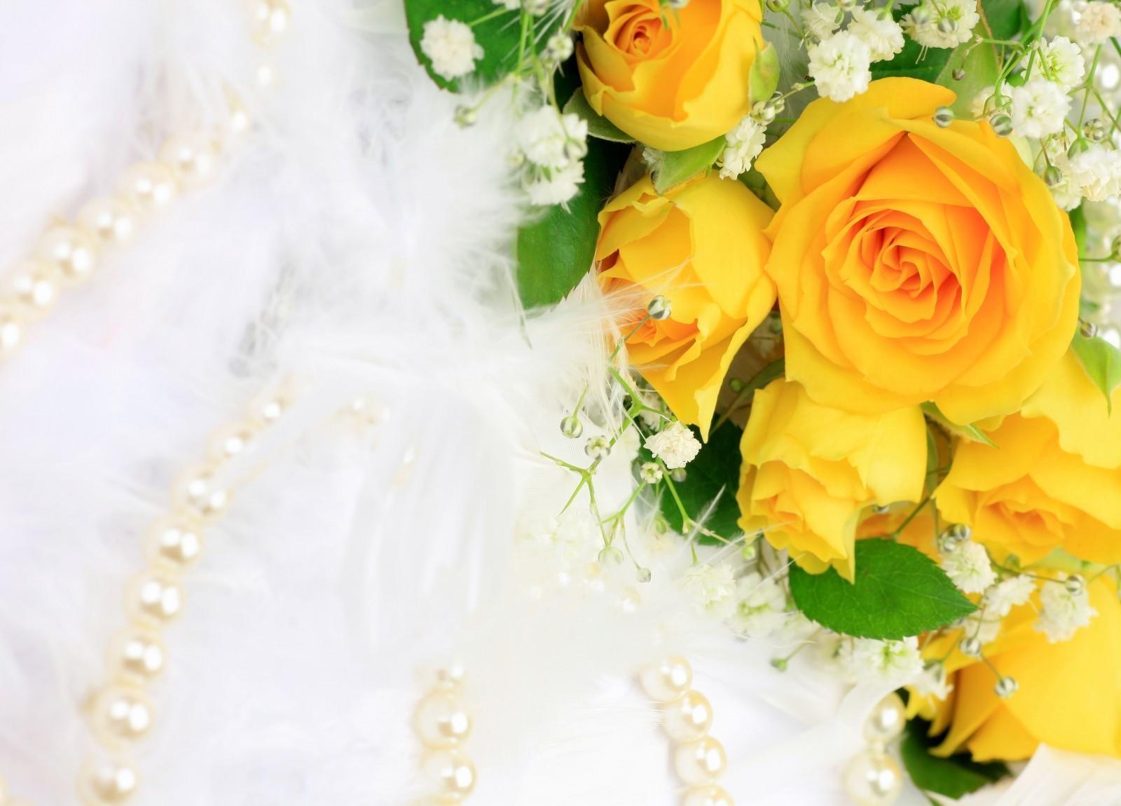 139543 скачать обои Цветы, Букет, Гипсофил, Жемчуг, Украшение, Розы - заставки и картинки бесплатно