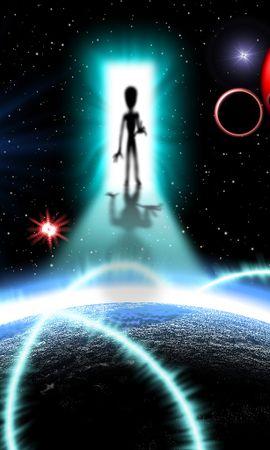 23163 скачать обои Фэнтези, Космос, Инопланетяне, Нло (Extraterrestrials, Ufo) - заставки и картинки бесплатно