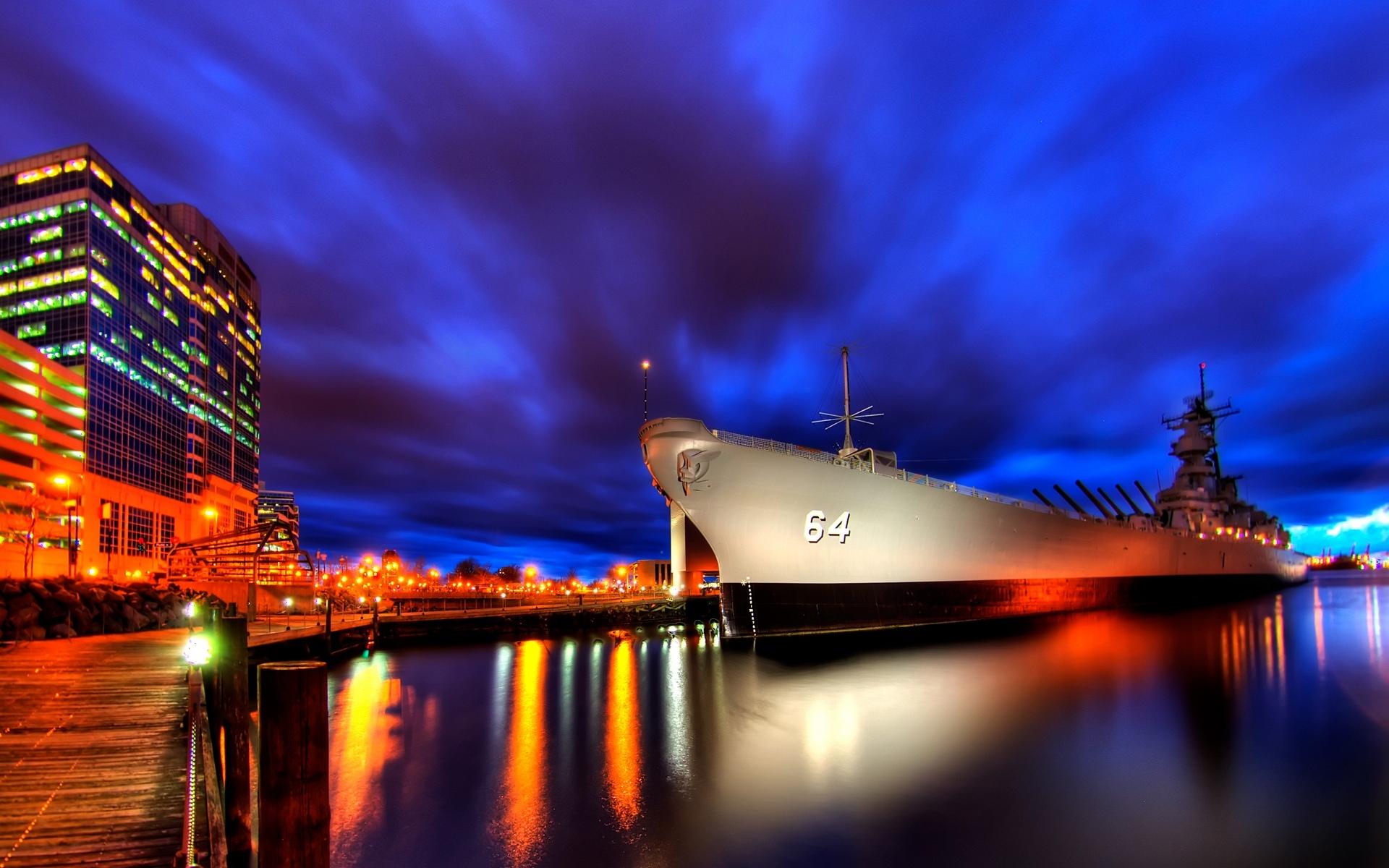 23293 скачать обои Транспорт, Корабли, Море, Оружие - заставки и картинки бесплатно