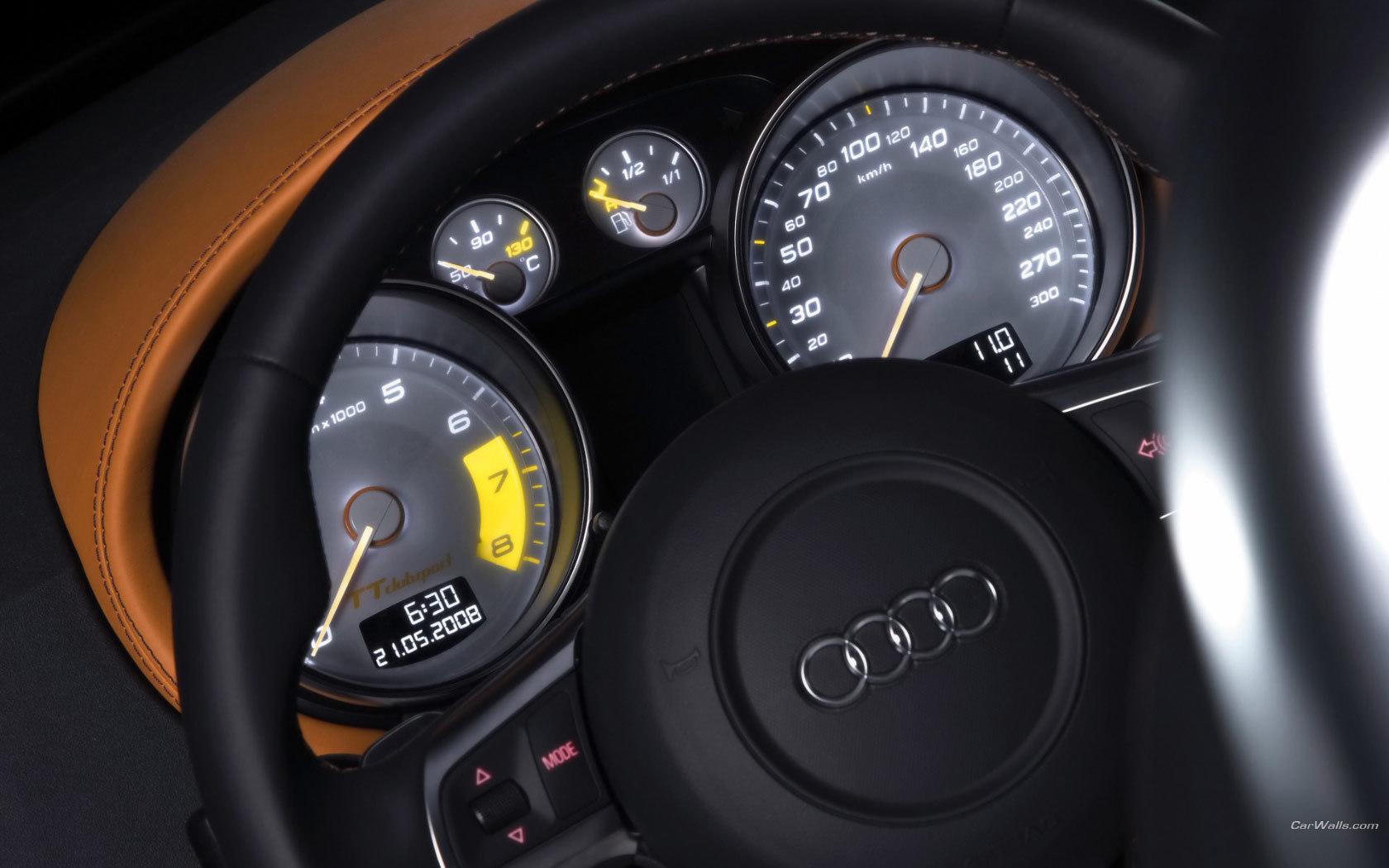 9922 скачать обои Машины, Ауди (Audi), Интерьер - заставки и картинки бесплатно