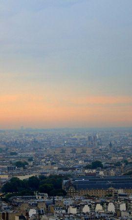 74389 baixar papel de parede Paris, Panorama, Céu, Cidades, Paisagem - protetores de tela e imagens gratuitamente