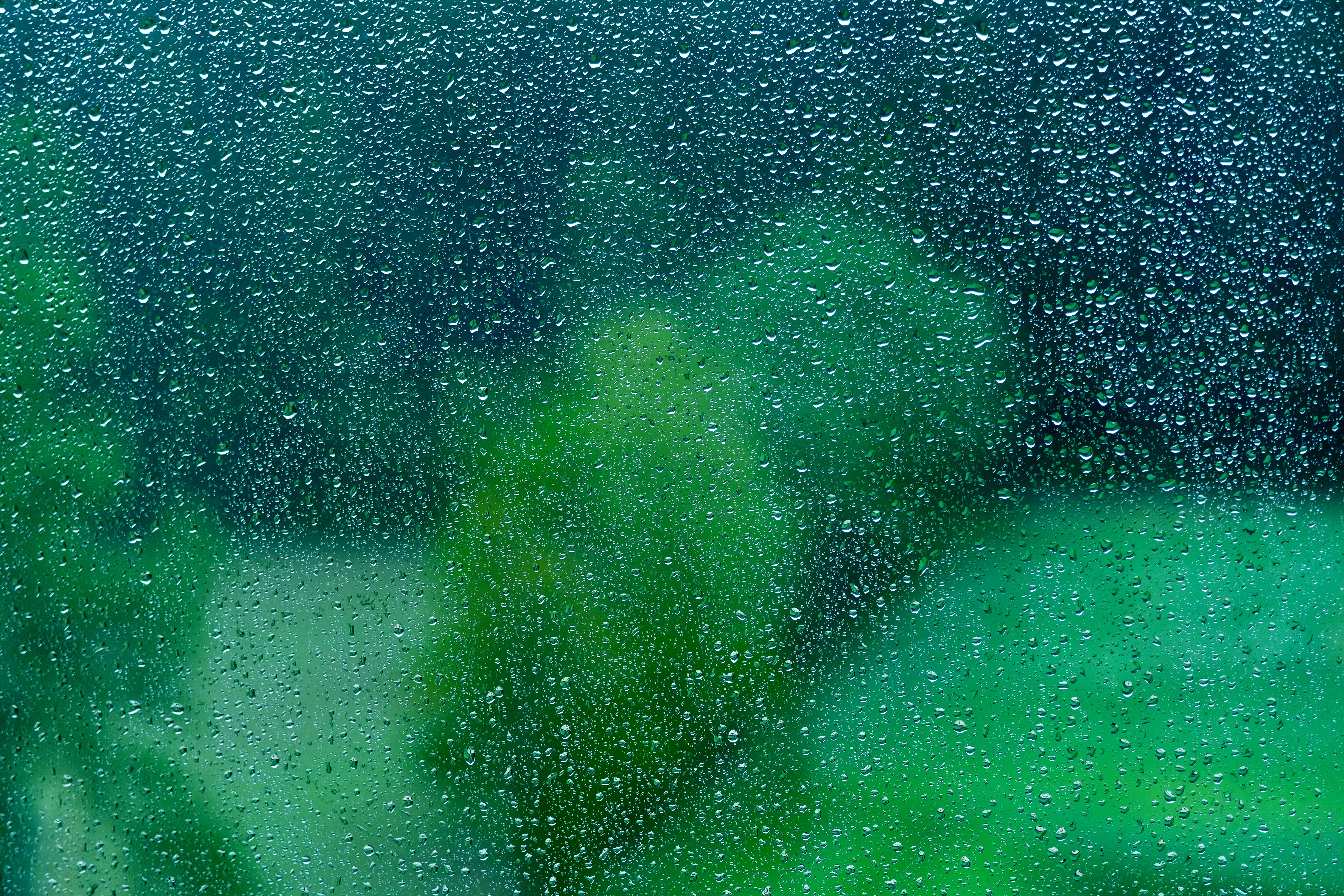 56673 free download Green wallpapers for phone, Macro, Drops, Glass, Surface, Wet, Rain, Transparent Green images and screensavers for mobile