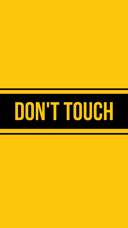 126737 скачать обои Слова, Надпись, Запрет, Dont Touch, Блокировка - заставки и картинки бесплатно