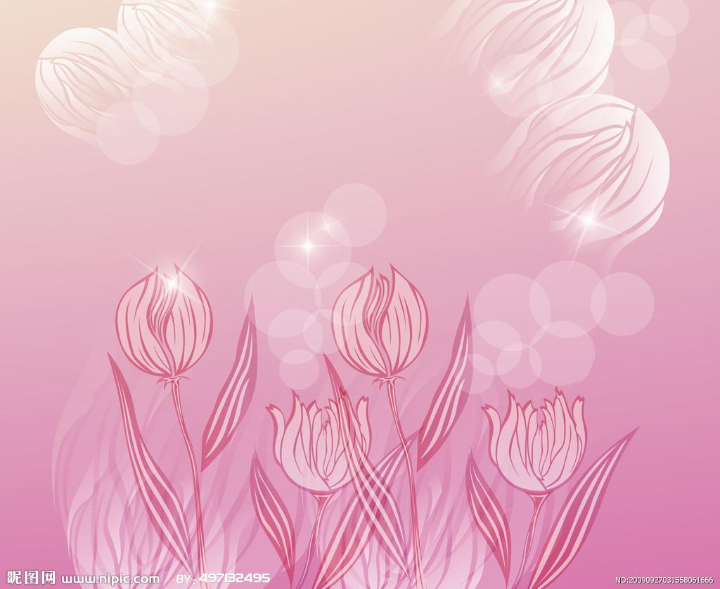 9611 скачать обои Цветы, Тюльпаны, Рисунки - заставки и картинки бесплатно