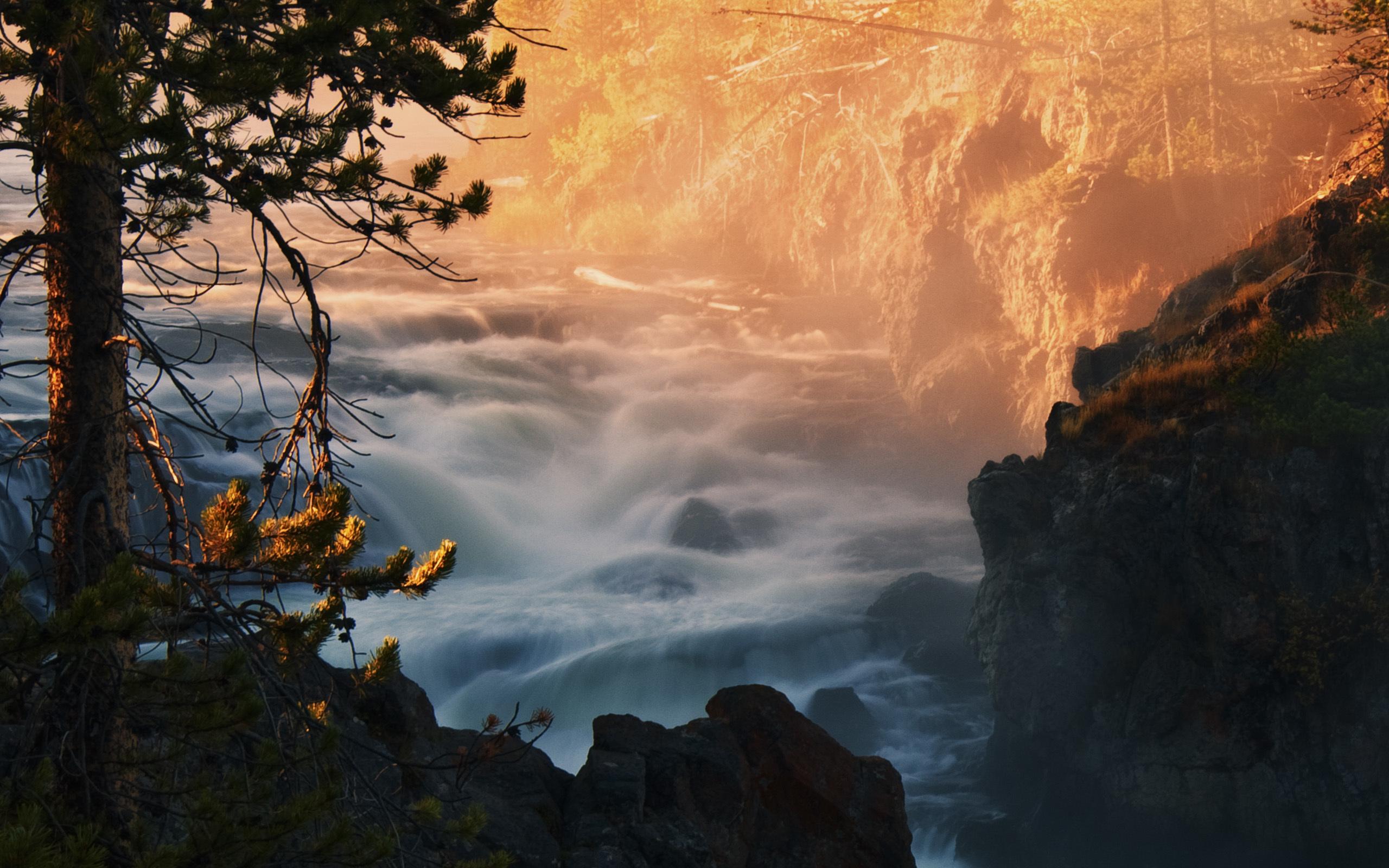 44551 скачать обои Пейзаж, Природа, Река, Водопады - заставки и картинки бесплатно