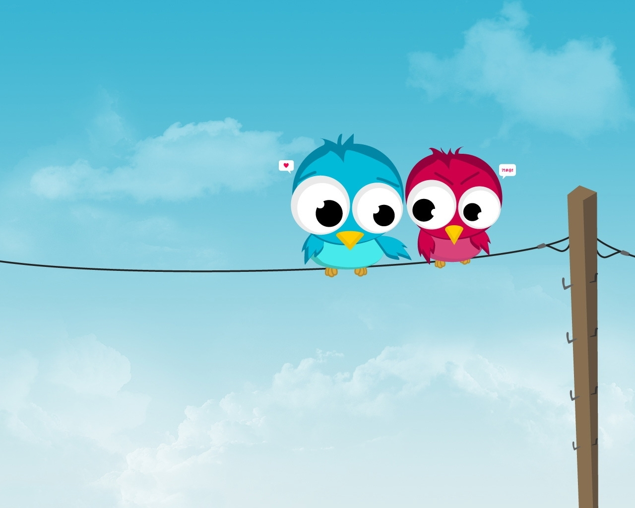 1603 download wallpaper Birds, Love, Pictures screensavers and pictures for free