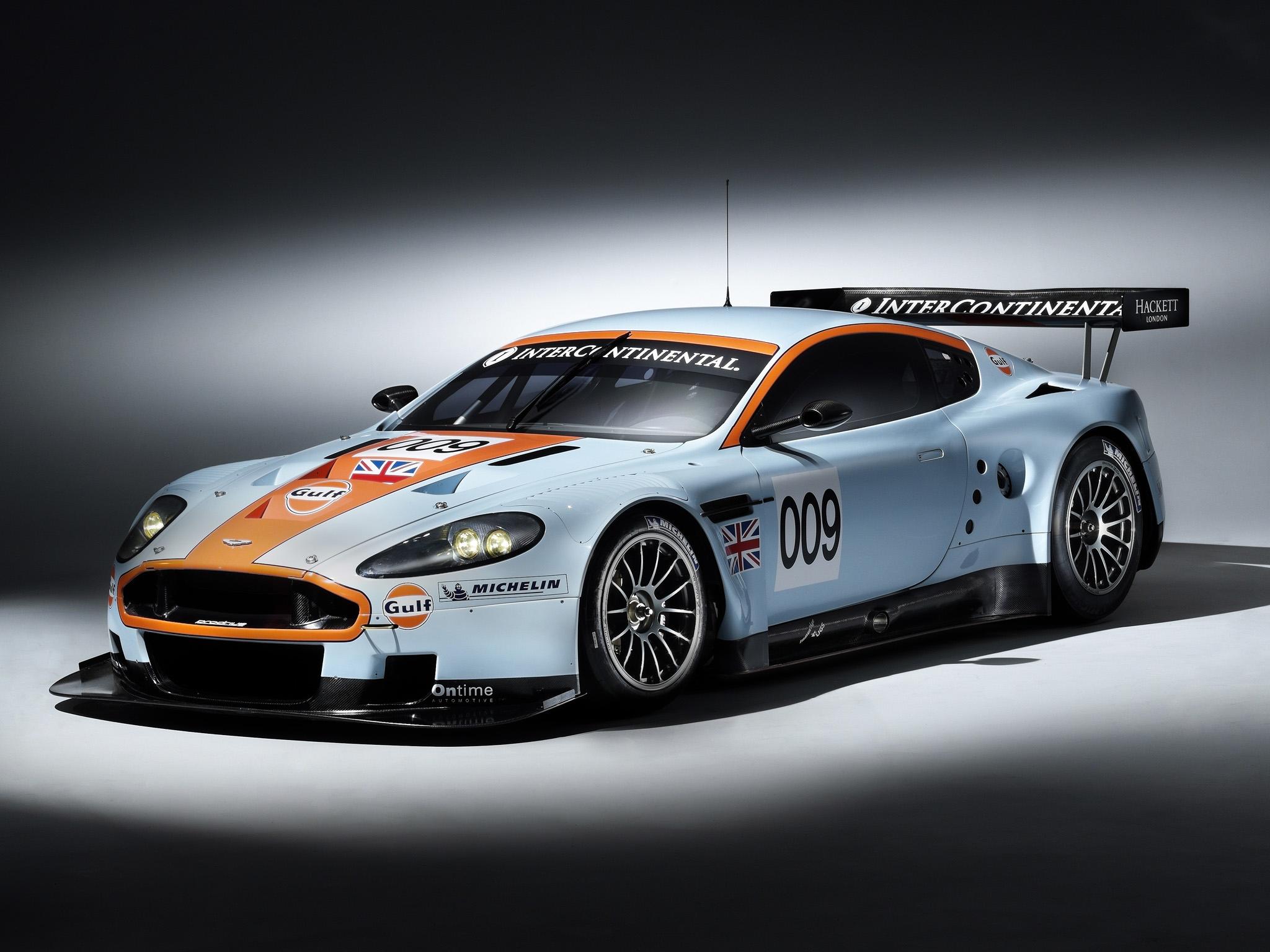 102638 скачать обои Спорт, Машины, Астон Мартин (Aston Martin), Тачки (Cars), Белый, Вид Сбоку, Стиль, 2008, Dbr9, Гоночный Болид - заставки и картинки бесплатно